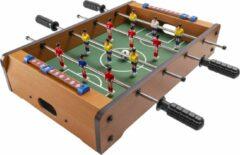 Groene GadgetMonster GDM-1028 mini voetbaltafel - tafelvoetbalspel in MDF