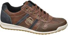 Memphis One Heren Bruine sneaker vetersluiting - Maat 41