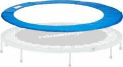 Blauwe Relaxdays Trampoline beschermrand - rand afdekking - trampoline accessoires - 30 cm breed 244 cm