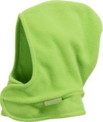Grijze Playshoes Winter Playshoes Fleece Muts klitteband Kinderen - Grijs - Maat 47-49cm