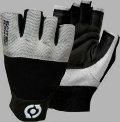 Grijze Scitec Nutrition - Trainingshandschoenen - Unisex - Workout Gloves - Grey style - M