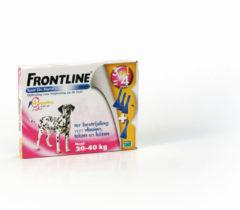 Frontline Spot On 3 Large Hond Large - Anti vlooien en tekenmiddel - 4 pip