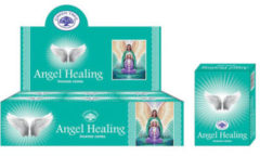 Blauwe Mountain-giftshop Angel healing ( greentree ) kegelwierook