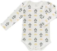 Fresk Pinguin Romper Lange Mouw Newborn
