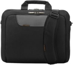 "Zwarte Everki Advance Laptop Bag Briefcase 16"" Black"