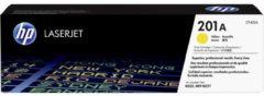 HP 201A CF402A Tonercassette Geel 1400 bladzijden Origineel Tonercassette