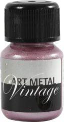 Schjerning Art Metal verf, Parelmoer rood, 30ml