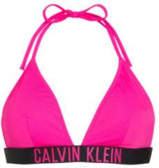 CALVIN KLEIN triangel bikinitop neon roze