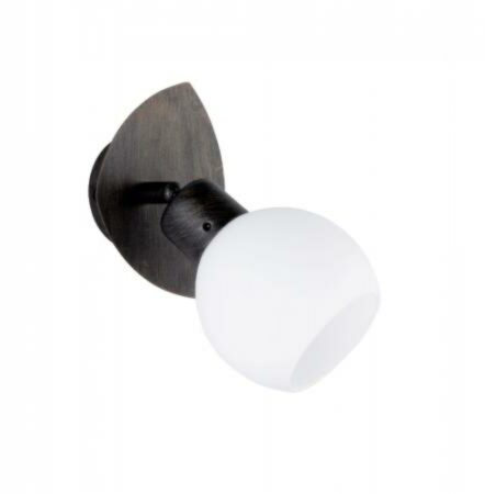Afbeelding van Trio Serie 8248 Spotlamp 1x4W 3000K Antiek Roest Wit LED 824810128