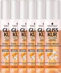 Gliss Kur Total Repair Express Repair Conditioner - 6 x 200 ml - voordeelverpakking