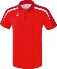 Erima Liga 2.0 Polo - Rood / Donkerrood / Wit | Maat: XL