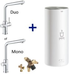 Kokendwaterkraan Grohe Red New L Size Boiler MONO of DUO (RVS of Chroom) L Uitloop