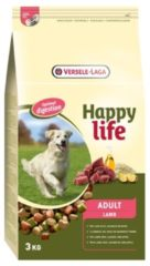 Versele-laga HAPPY LIFE ADULT LAM DIGESTION HONDENVOER #95; 3 KG