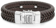 Buddha to Buddha armband Komang Leather Brown Large (F) 21 cm 161BR