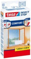 1x Tesa vliegenhor/raamhor wit 1,3 x 1,3 meter - Tuinartikelen/benodigdheden - Tesa - Insectenwering - Insectenhorren/vliegenhorren/raamhorren - Insecten en ongedierte weren