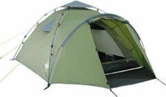 Lumaland - Familietent 3 personen - Camping, Outdoor - Quick Up System - 220 x 220 x 130 cm - Groen