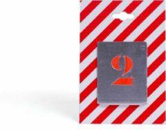 BVG cijfersjablonen, hoogte 35mm