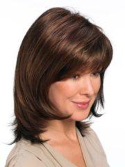 Pruik Naomi Lofty middenbruin/lichtroodbruin