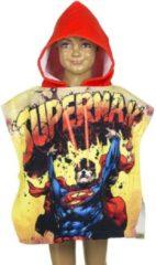 Marvel Superman badcape/badponcho met rode capuchon voor jongens