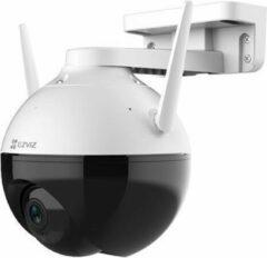 Witte EZVIZ by Hikvision Ezviz C8C - Draai-/kantelcamera camera - Buiten camera, 1080P Wifi, Bewegingsdetectie, zwart