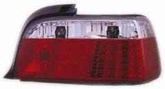 AutoStyle Set LED Achterlichten passend voor BMW 3-Serie E36 Coupe 1991-1998 - Rood/Helder