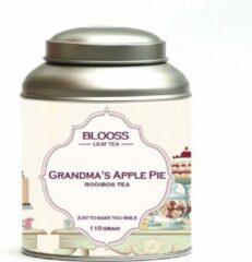 BLOOSS coffee Grandma's Apple Pie | rooibos | losse thee | 110g | in theeblik