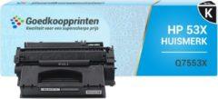 Goedkoopprinten Huismerk voor HP 53X toner / HP Q7553X toner Zwart (7.000 afdrukken)