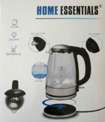 Home Essentials glazen Waterkoker 1,7L met LED 2200W