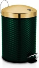 Groene Berlinger Haus 6440 - Pedaalemmer 12 liter - Metallic line - Emerald collection