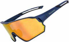 Falkann Fietsbril / Sportbril Blauw - Gepolariseerde Glazen