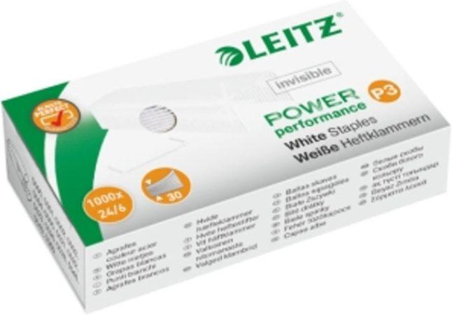 Afbeelding van Leitz Power Performance P3 witte nietjes, doos van 1000 stuks