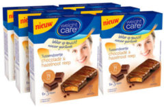 Weight Care Tussendoortje Maaltijdreep - chocolade-hazelnoot - 6x8 stuks