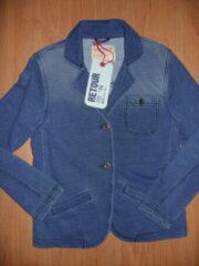 Blauwe Retour jeans colbert 128