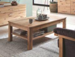 Couchtisch Asteiche Bianco teilmassiv geölt mit Schubkasten MCA-Furniture Santori