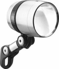 Zilveren BUSCH & MÜLLER Busch + Müller Lumotec IQ-X Dynamo Koplamp LED, silver