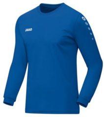 Jako Team Longsleeve T-shirt Heren Sportshirt - Maat XXL - Mannen - blauw
