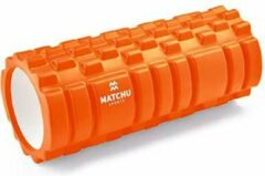 Matchu Sports Foam Roller - Oranje - 33cm - Ø14cm