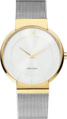 Gouden Danish Design watches edelstalen dameshorloge Fur Two-Tone IV65Q1195