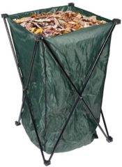 Handige tuinafvalzak met houder / frame - 213 liter - 46 x 89 cm - tuinopruimer