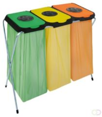 Groene Afvalzakhouder EKOthinks 3 - Groen/geel/oranje - EKO