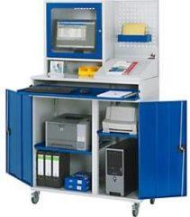 Rau Computer-Schrank , stationäre oder mobile Ausführung, mit Monitorgehäuse