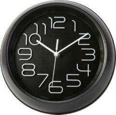 Zwarte Cosy&Trendy CLOCK BLACK D26XH5,3CM ROUND