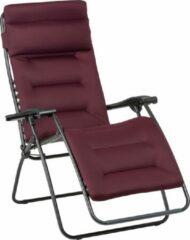 Bordeauxrode Lafuma Rsx Clip Aircomfort - relaxstoelen - inklapbaar - Donkerrood