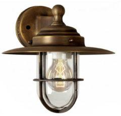 Bruine KS Verlichting K.S. Verlichting - Labenne Muurlamp