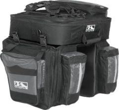 M-Wave Fahrradtasche für Gepäckträger AMSTERDAM TRIPLE