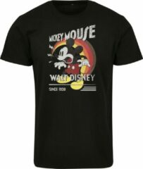 Zwarte Merchcode Mickey Mouse - Show - After - Cartoon - Walt Disney T-Shirt - Tshirt Heren T-shirt Maat M