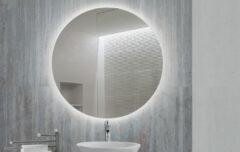 FOCCO Dara LED spiegel Ø 75cm rond