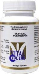 Vital Cell Life B6, B12, B2, Foliumzuur - 60 capsules - Vitaminen