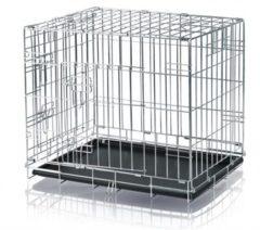 Trixie Transportbox, rechthoekig model met 2 deuren, voor en opzij te openen