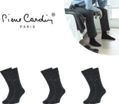 Donkergrijze Pierre Cardin 3-pack sokken Classic Antraciet - 39-42